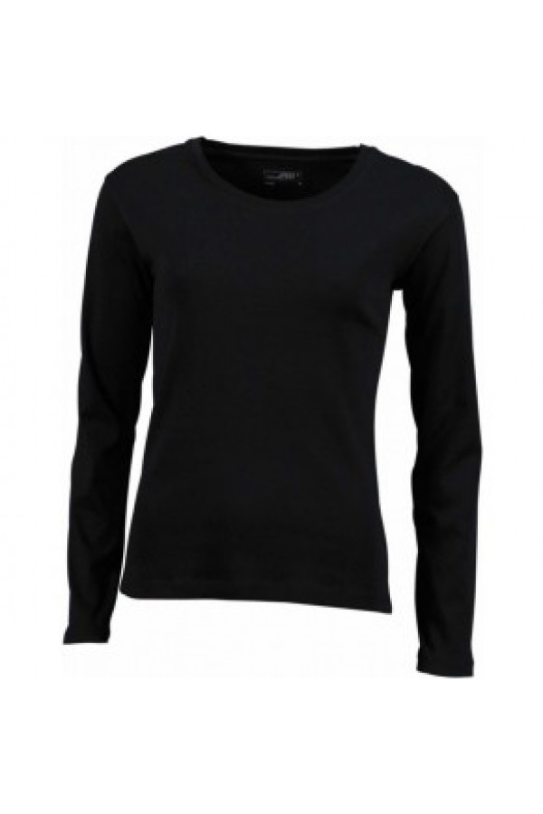 f23d224a25 Taboo Hungary - James & Nicholson Női fekete színű Hosszú ujjú póló