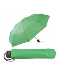 Zöld összecsukható esernyő