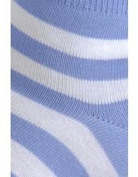 Zokni Giorgio Női Boka Kék-Csíkos