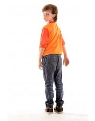 Gyerek Póló Narancs- Fiú