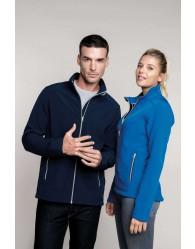 FÉRFI 2 rétegű softshell kabát