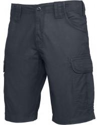 FÉRFI sötétkék színű Bermuda nadrág
