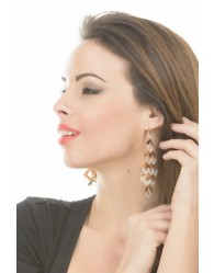 Női Fülbevaló Arany Színű