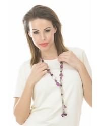 Lila női nyaklánc