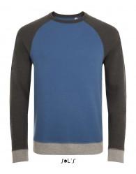 Férfi kontrasztos pulóver