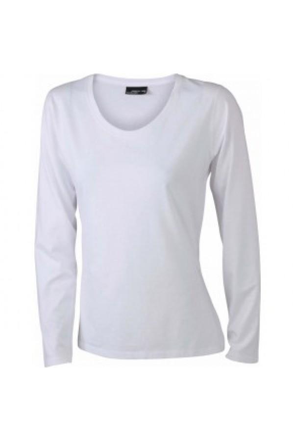 62437de483 Taboo Hungary - James & Nicholson Női Fehér színű hosszú ujjú póló
