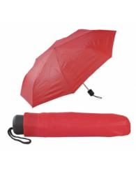 Piros összecsukható esernyő