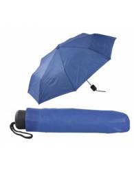 Kék összecsukható esernyő