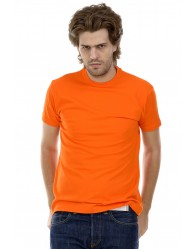 Férfi Rövid Ujjú Póló Narancs