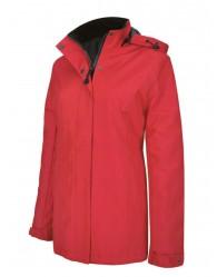 Piros Női kabát