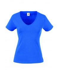 Fruit of the Loom Karcsúsított kék női póló