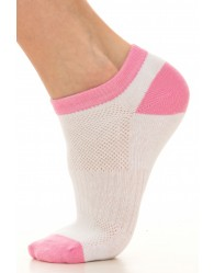Női Titokzokni, Fehér-Pink